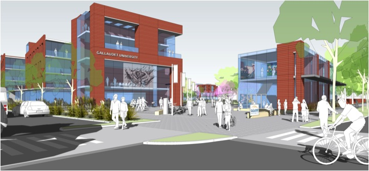 Rendering of the Sixth Street/Florida Avenue Gateway