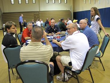 Athletic directors in discussion
