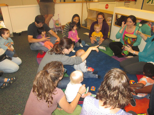 Parents and children learning together