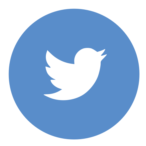 Light blue background with the icon bird for twitter logo