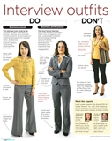 How to dress for an interview: Women