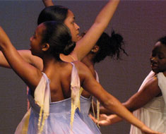 Image: Students from Eleanor Roosevelt High School, seen here dancing at last year's concert, will perform new works of ballet and step dance as part of the 2011 Dance