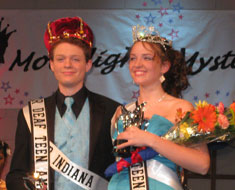Image: Mr. and Miss Deaf Teen America 2010-11 from the Indiana School for the Deaf. Photo courtesy of the Maryland School for the Deaf.
