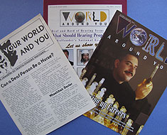 Image: World Around You covers through the years.