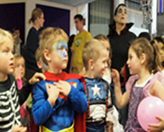 Image: Kids and parents enjoyed dressing up for the KPTA Spooktacular on October 29. (Photo: Susan Flanigan)