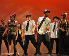 "Image: MSSD dancers perform ""We Found Love."""