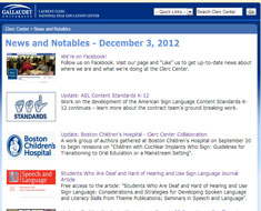 Image: December News and Notables