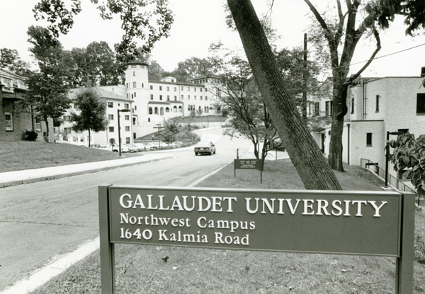 Northwest Campus with its Address on a Sign