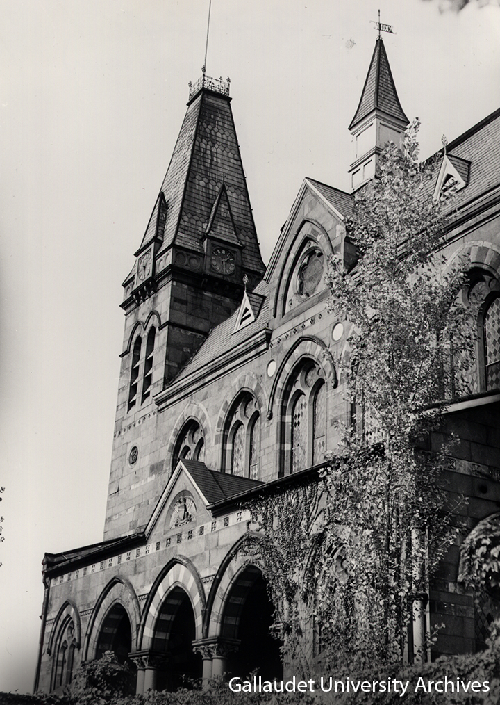 Chapel Hall, Gallaudet University 1892
