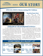 Special issue: Homecoming 2014 Newsletter image.