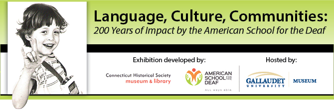 Banner design for Language, Culture, Communities exhibit