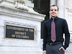 A Lesson in Civil Service: Brandon Williams, '14, Interns with D.C. Councilmember Kenyan McDuffie