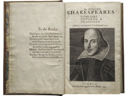 Gallaudet to Host Shakespeare's First Folio Exhibition in 2016