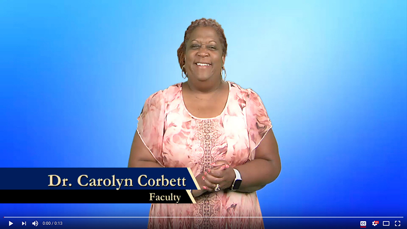 Dr. Carolyn Corbett explains why she donates to Gallaudet.