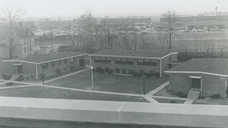 The three buildings of the Kendall School Division II for the Negroes.