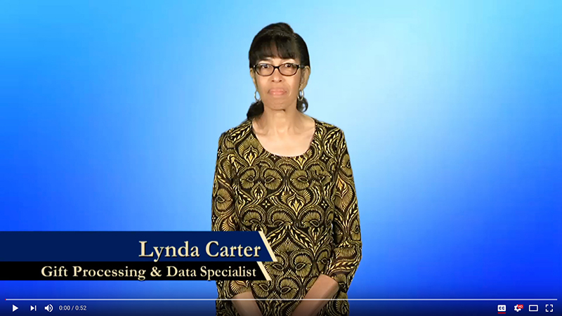 Lynda Carter explains how to do payroll giving
